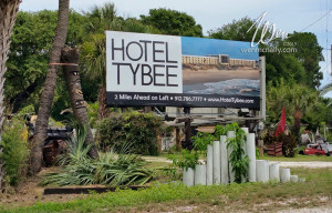 Create Online Media - hotel tybee billboard